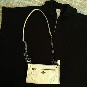 Coach small crossbows bag,  off-white